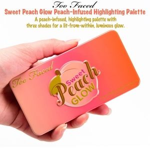 Too Faced Sweet Peach-Infused Highlight Palette